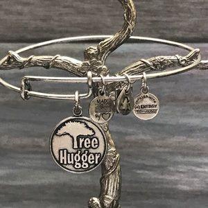 Alex and Ani 2013 Tree Hugger bracelet